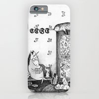 iPhone & iPod Case featuring Unicorn house by Ulrika Kestere