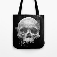 Favela'Skull Tote Bag