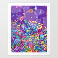 Inner Purple Art Print