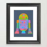 Framed Art Print featuring OrTwoDeeTwo  by Fimbis