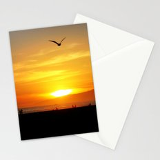Venice Beach Flying Through the Sunset Stationery Cards