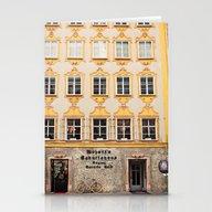Mozart Residence  Stationery Cards