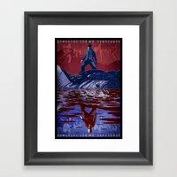 Sympathy For Mr. Vengean… Framed Art Print