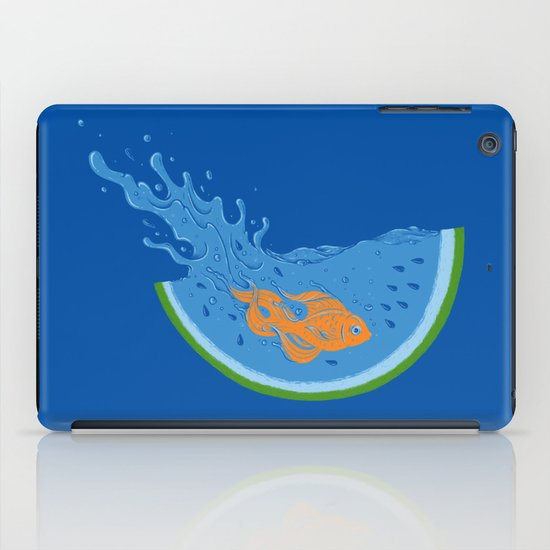 Watermelon Dive iPad Case