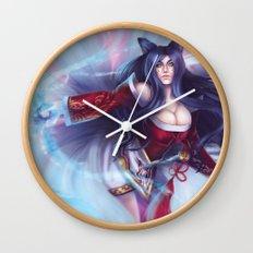 Ahri - League of Legends Wall Clock
