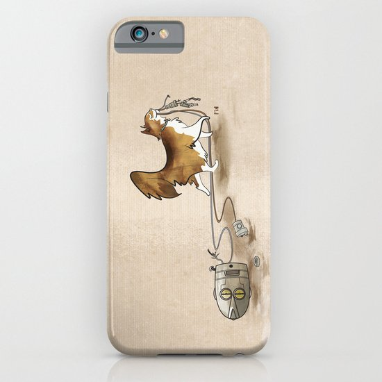 My Cat, the Robot Killer iPhone & iPod Case