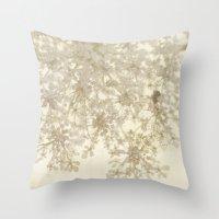queen of summer Throw Pillow