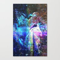 Even The Heavenly Falter II Canvas Print