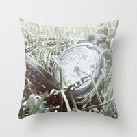 First Frost Of Winter Throw Pillow