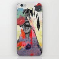 Bundenko collage iPhone & iPod Skin