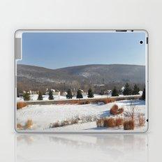 Winter Snow Scene Landscape Photo Laptop & iPad Skin