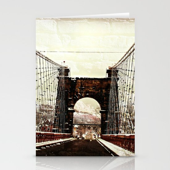 The End Of Suspension Stationery Card