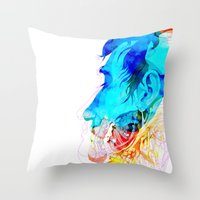 Anatomy Quain v2 Throw Pillow