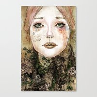 Indelicate Thorns Canvas Print