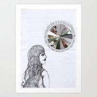 Mundane Full Force //without words// Art Print