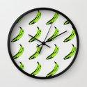 don't buy green bananas Wall Clock