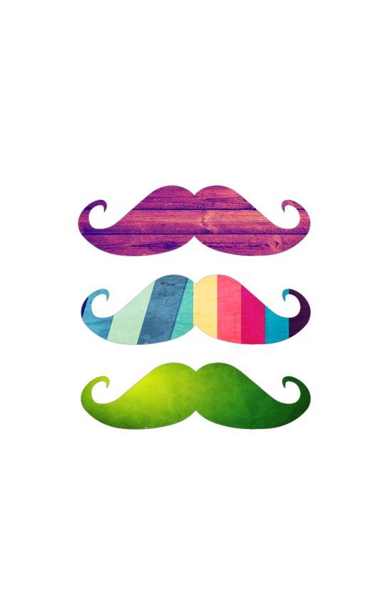 Mustachio special for iPhone Art Print