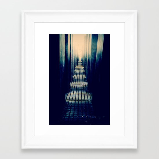 Slabs Framed Art Print