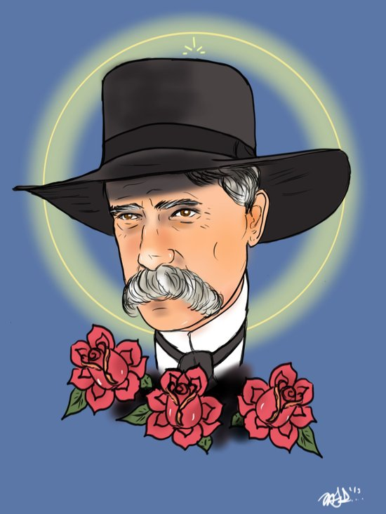 Virgil Earp Canvas Print