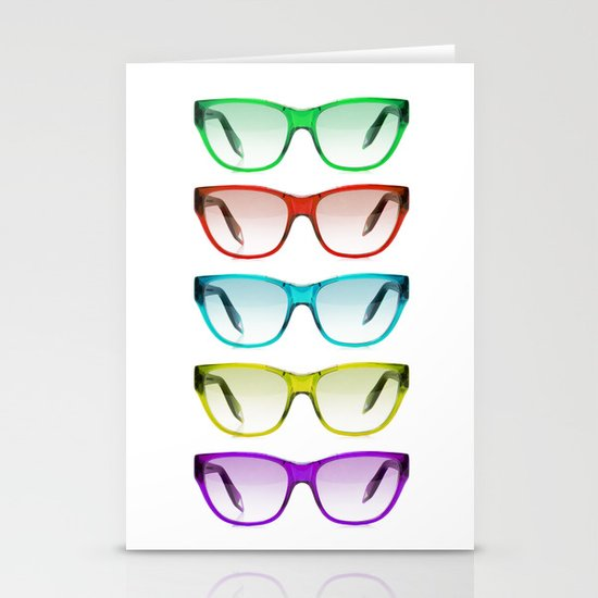 SUMMER SUNGLASSES Stationery Card