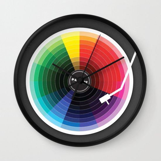 Pantune - The Color of Sound Wall Clock