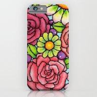 Rosie Ornament Cubist Style iPhone 6 Slim Case
