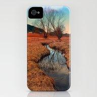 A Stream, Dry Grass, Ref… iPhone (4, 4s) Slim Case