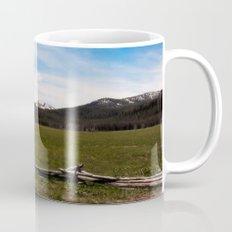 mountains. Mug