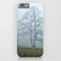 iPhone & iPod Case featuring Tree in the Mist by Tracey Tilson Photography