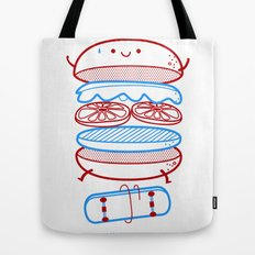 Street burger  Tote Bag