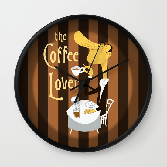 The Coffee Lover Wall Clock