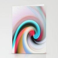 Whirl #2 Stationery Cards
