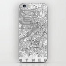 Antwerp Map Line iPhone & iPod Skin