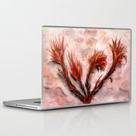 Laptop & iPad Skin featuring The Fireflowers by Teddynash