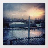 Brooklyn Rooftop Canvas Print