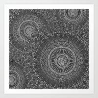 Mandala Tiled Art Print