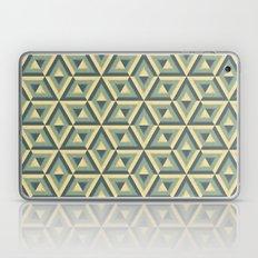 grunge geometric pattern Laptop & iPad Skin