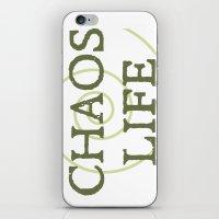 ChaosLife: The Print iPhone & iPod Skin