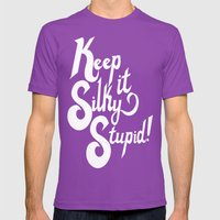 KISS Mens Fitted Tee Ultraviolet SMALL