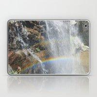 Rainbow In The Waterfall… Laptop & iPad Skin