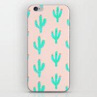 Cactus Print iPhone & iPod Skin