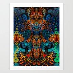 Magic Fairy Art Print