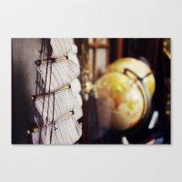 World Traveler Canvas Print