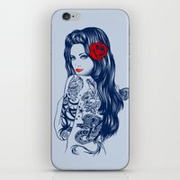 Tattoo Lolita iPhone & iPod Skin