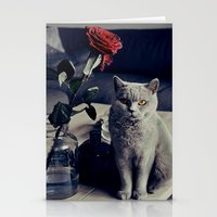 Diesel with rose Stationery Cards