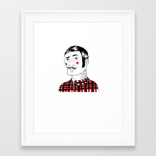 François Framed Art Print