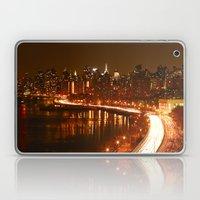 New York City Night Skyl… Laptop & iPad Skin