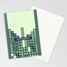 tantric tetris. Stationery Cards
