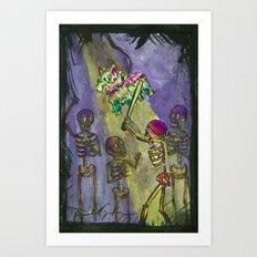 Piñata Art Print