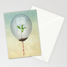 micro environment Stationery Cards